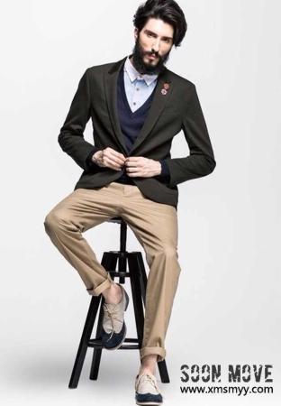 标签:外籍时尚男模特-001