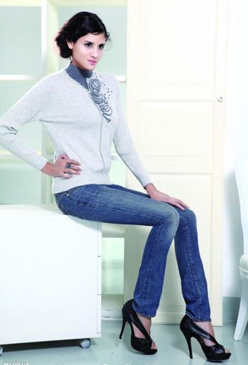 3 : 平面模特最常用的三大基本拍摄姿势—坐立式    坐着全身照pose